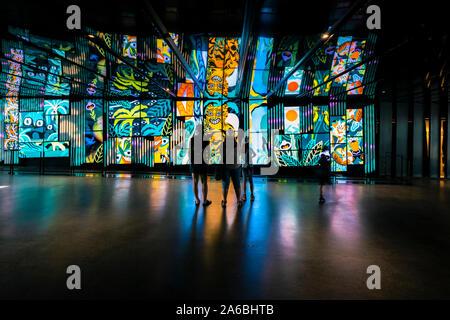 Hotel des Arts - Arts Centre in Montreal, der größten kulturellen und künstlerischen Komplexe in Kanada - Stockfoto