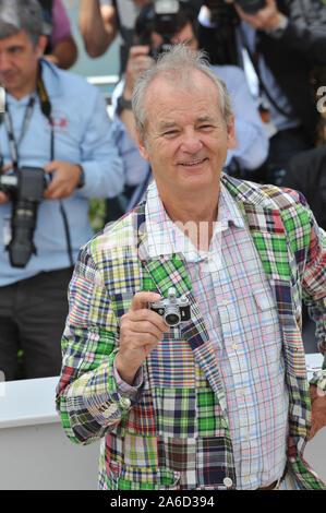 "CANNES, Frankreich. Mai 16, 2012: Bill Murray am Fotoshooting für seinen neuen Film 'Moonrise Königreich"" am 65. Festival de Cannes. © 2012 Paul Smith/Featureflash - Stockfoto"