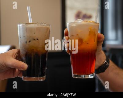 Thai/ice tea - Stockfoto