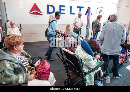 Atlanta Georgia Hartsfield-Jackson Atlanta International Airport - Stockfoto