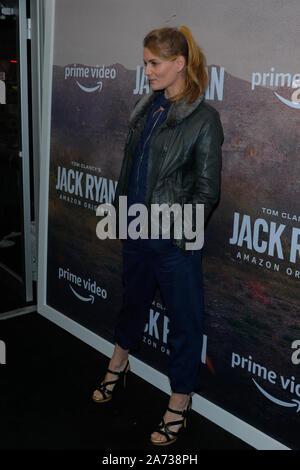 New York, Vereinigte Staaten. 29 Okt, 2019. Susan Misner besucht die Jahreszeit zwei Premiere von Tom Clancy's Jack Ryan an Metrograph in New York City. Credit: SOPA Images Limited/Alamy leben Nachrichten - Stockfoto