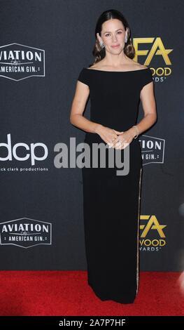 Beverly Hills, CA. 3. November, 2019. Jennifer Garder bei der Ankunft für 23. jährlichen Hollywood Film Awards, The Beverly Hilton, Beverly Hills, CA 3. November 2019. Credit: Elizabeth Goodenough/Everett Collection/Alamy leben Nachrichten - Stockfoto