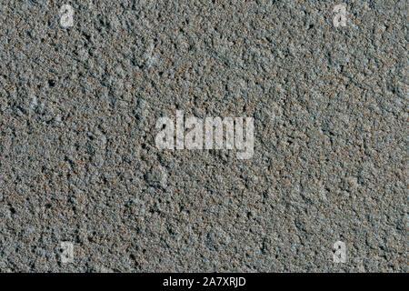 Raue asphalt Textur. Stein asphalt Textur Hintergrund in schwarzem Granit Schotter. Hintergrund, Bitumen, Braun, holprigen, nah, Nahaufnahme, Nahaufnahme, Beton, con - Stockfoto