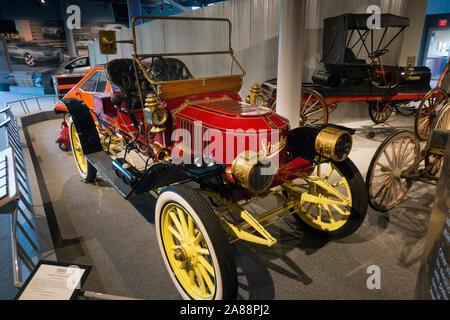 Amerika auf Rädern museum Allentown, Pennsylvania - Stockfoto