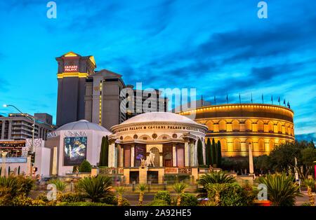 Caesars Palace in Las Vegas in Nevada, United States - Stockfoto