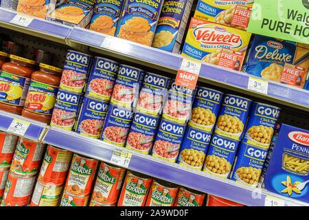 Miami Beach Florida Walgreens einkaufen Einzelhandel anzeigen Produktverpackung - Stockfoto
