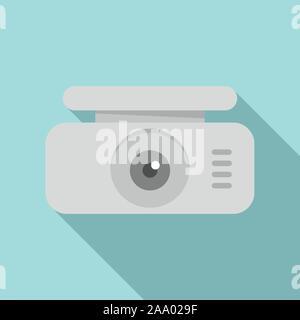 Spy dvr-recorder Symbol. Flache Darstellung von Spy dvr-recorder Vektor Symbol für Web Design - Stockfoto