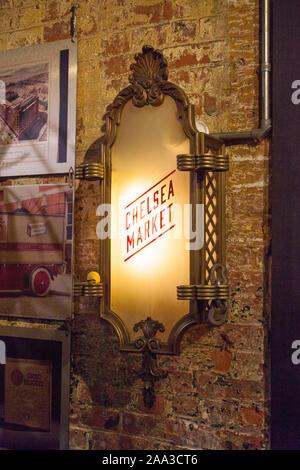 Chelsea Market, New York City, Vereinigte Staaten von Amerika. - Stockfoto