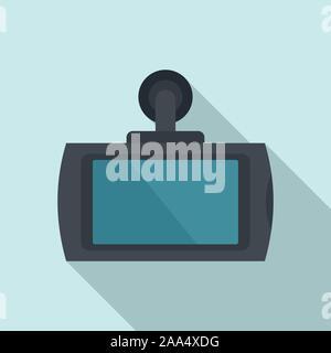 Smart Auto dvr-Symbol. Flache Darstellung von Smart Auto dvr-Vektor Symbol für Web Design - Stockfoto