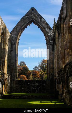 Bolton Abbey in North Yorkshire - Stockfoto