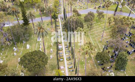 Beth Olam Cemetery-Hollywood, Los Angeles, Kalifornien, USA - Stockfoto