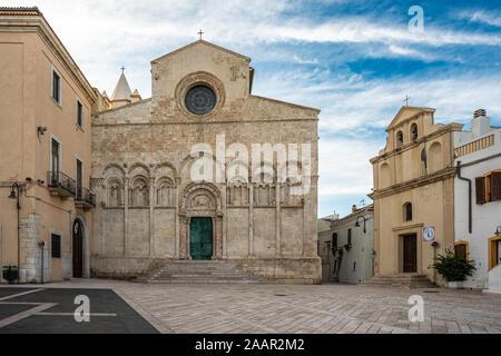 Kathedrale Santa Maria della Purificazione, Termoli Molise - Stockfoto