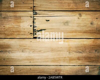 Ein Hintergrund, bestehend aus alten Holzplanken - Stockfoto