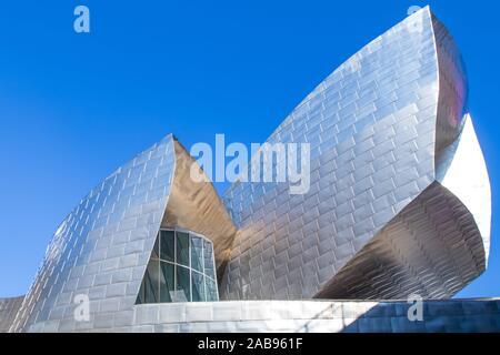 Gugenheim Museum von Bilbao. - Stockfoto
