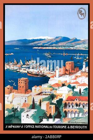 Sur Le Pont D'Avignon Art Déco 1930s Französisch Reise Plakat Vintage Retro