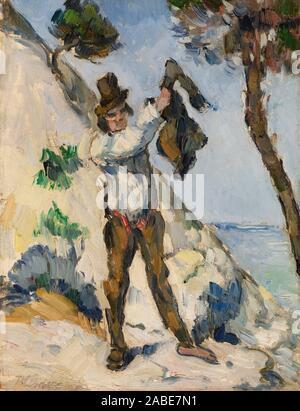 Der Mann mit der Weste (L'Homme la Veste) Ca. 1873) von Paul Czanne..jpg - 2 ABE7N1 - Stockfoto