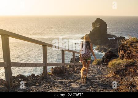 View Point Santo Domingo Rock, La Palma - Stockfoto