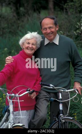 Portrait gerne älteres Paar