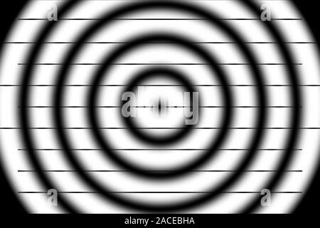 Eine abstrakte schwarzen und weißen Hintergrund Bild. - Stockfoto