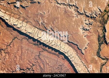 Comb Ridge Utah, USA NASA-Satellitenbild der Erde aus dem Weltraum