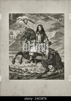 Wilhelm III (Willem; 1650-1702), auch bekannt als Wilhelm von Orange, souveränen Fürsten von Orange war von Geburt, stadthalter von Holland, Zeeland, - Stockfoto