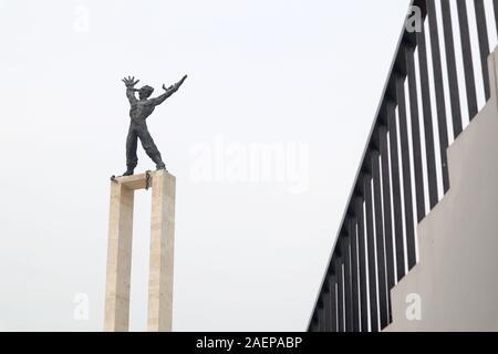 Denkmal Pembebasan Irian Barat, Freiheit West Papua, Lapangan Banteng, Jakarta, Indonesien. - Stockfoto