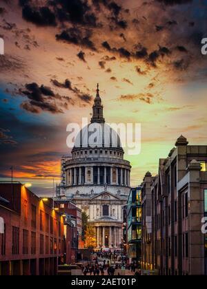 Die Schönheit der St Pauls Cathedral, London - Stockfoto
