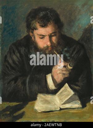 Auguste Renoir (1872) von Claude Monet. . - Stockfoto