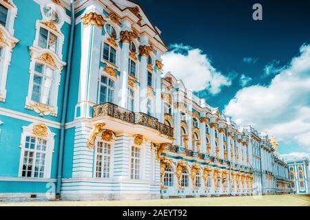 Katherine's Palace Hall in Tsarskoe Selo (Puschkin), Russland - Stockfoto