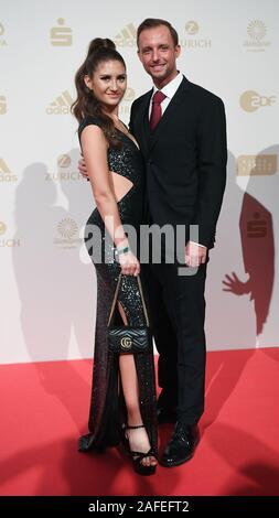Gesa Felicitas KRAUSE, mit Freund Marc roter Teppich, Red