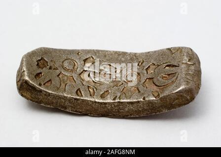 Alte indische Münze ca. 500-300 v. Chr. - Stockfoto