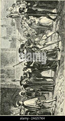 . Der britische Maler; mit 80 Beispiele ihrer Arbeit graviert auf Holz. en Monate, Zeichnung im Leben schulen, und das Studium der stanzi von theVatican. Während der Sommermonate ist er selbst in Skizzieren fromnature zu den Albaner Bergen, in Subiaco beschäftigt und im Tivoli. Drei monthspassed in England im Jahr 1856, und Herrn Yeames wurde wieder in Florenz, Arbeiten unter Signor Buonajuti. In dieser Zeit malte er zwei kleine Bilder, bzw. berechtigt, Nächstenliebe und die Mandoline Player, die in einem unserer provinziellen Galerien wereexhibited, nach der Künstler zu EnglandIn 1858 zurück. Seit dass Ihr - Stockfoto