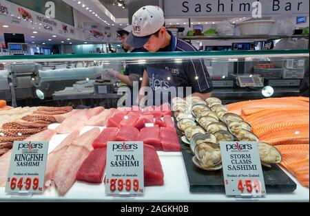 Sydney Australien. Der Fischmarkt - Stockfoto
