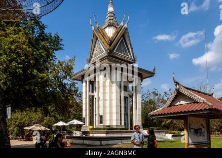 Choeung Ek völkermörderischen Center (die Killing Fields) in Phnom Penh, Kambodscha. - Stockfoto