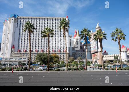 Excalibur Hotel, Las Vegas - Stockfoto