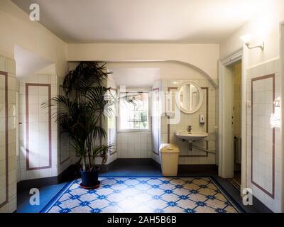 Wc in der Villa Farnesina - Rom, Italien - Stockfoto