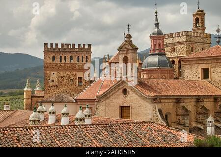 Kloster Santa María de Guadalupe in der Stadt Plasencia, Extremadura, Spanien - Stockfoto