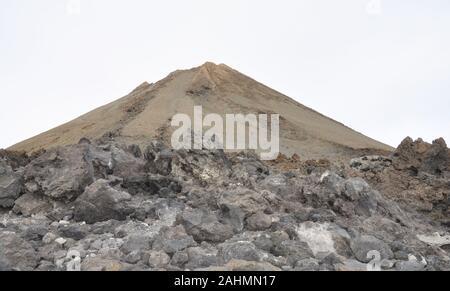 Schlafenden Vulkan Teide auf Teneriffa - Stockfoto