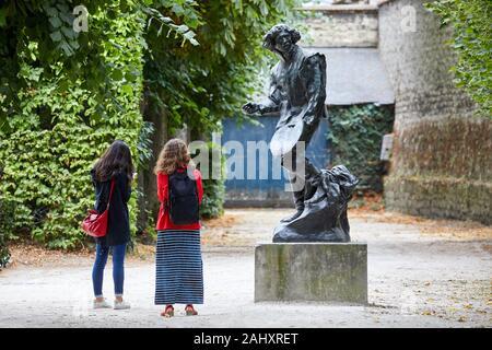 ''' Claude Gelée dit Le Lorrain'', Skulptur von Auguste Rodin (1840-1917), Musée Rodin, Paris, Frankreich - Stockfoto