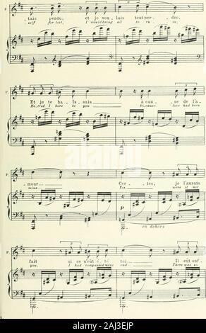 Monna Vanna, Lyrisches Drama in vier Akten und fünf Tableaux von maruice Maeterlinck englische Text von Claude Aveling. H.*! ^ 79. iSo - Stockfoto