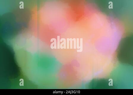 Digital Art watercolor textured Wirkung Hintergrund in verschiedenen Frühlingsfarben. Dies ist vom Computer generierte Art. - Stockfoto