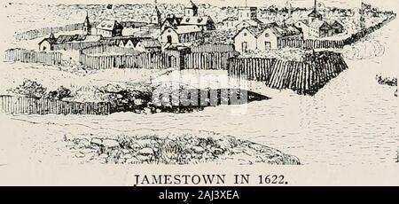 Geschichte der Pilger und Puritaner, ihre Vorfahren und Nachkommen; Grundlage der Amerikanisierung. VJ ERSTE PREDIGT IN JAMESTOWN DURCH DEN BAU VON ST. AUGUSTINE. Der hochwürdige Herr Hunt. ? M. 212 GESCHICHTE DER PILGER UND PURITANER ihre Landung in Plymouth, war die inSouth Jamestown Virginia. Die Einzelheiten der Teilnahme an diesem Städte steigen und die anschließende andfall cyclonic Happenings waren scharf Dis-disku sowohl in Leyden und in New Plymouth. Jamestown sollten mit weit greaterinfluence Ursache der Pilger ex gutgeschrieben werden? (Modus nach Amerika, und vergeben eine größere meed Lob als ist allgemein ein - Stockfoto