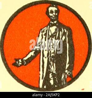 Die Lincoln Geschichte - Kalender 1809 1909; einen hundertsten Geburtstag. Oktober SUN. MON. Whirlpools. WED. TMURS. Fr. SAT. 1 1809. 1909 - Stockfoto