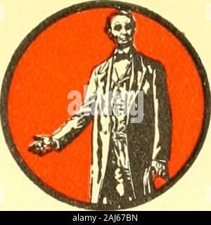Die Lincoln Geschichte - Kalender 1809 1909; einen hundertsten Geburtstag. Mai Sonne. MON. Di. WED. Do. Fr. SAT. 1 1809. 1909 - Stockfoto
