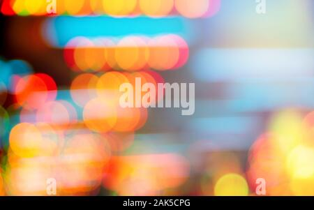 Abstract Lichter bokeh Hintergrund - Stockfoto