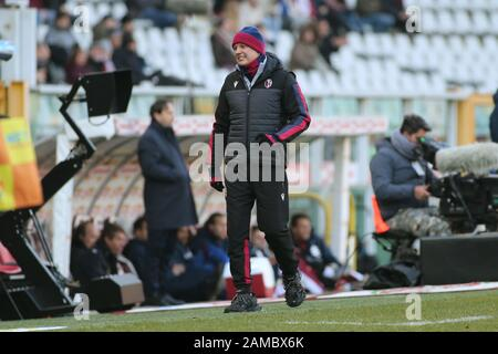 Torino, Italien. Januar 2020. Sinisa mihailovic (Trainer bologna) während Torino gegen Bologna, italienische Fußball-Serie-A-Männermeisterschaft in Torino, Italien, 12. Januar 2020 Credit: Independent Photo Agency/Alamy Live News - Stockfoto