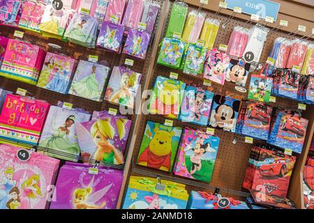 Miami Florida Wal-Mart Walmart Einkaufen für Verkauf Einzelhandel - Stockfoto