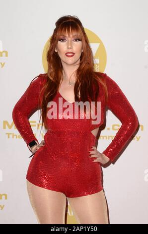 Los Angeles, CA. 16 Jan, 2020. Lauren Phillips in der Ankunftshalle für 2020 XBIZ Awards, der J.W. Marriott LA Live, Los Angeles, CA 16. Januar 2020. Credit: Priscilla Grant/Everett Collection/Alamy leben Nachrichten - Stockfoto
