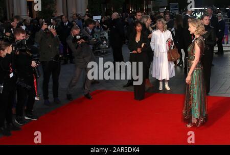 "Okt 05, 2017 - London, England, Großbritannien - 61. BFI London Film Festival - ""Mudbound"" European Premiere, Odeon Leicester Square - Red Carpet Arrivals Photo - Stockfoto"