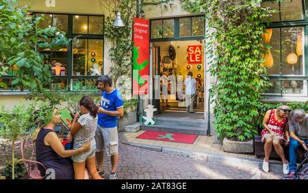 Ampelmann Shop bei hackesche hoefe - Stockfoto